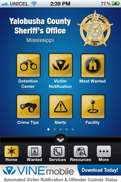 Sheriff Launches Mobile Patrol App – The North Mississippi